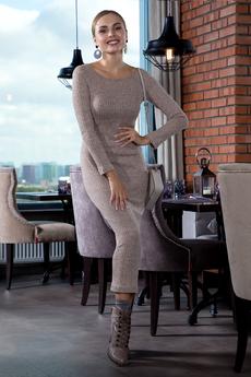 Длинное платье лапша RUXARA