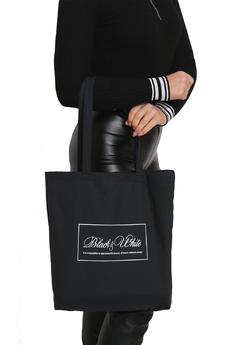 Черная сумка — шоппер Натали