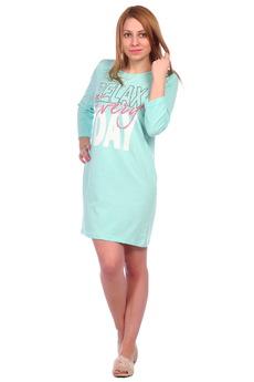 Ментоловая ночная сорочка ElenaTex