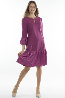 Платье цвета фуксия Bast