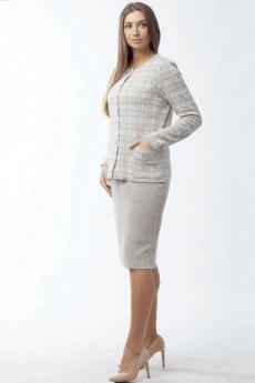 Новинка: вязаный костюм с юбкой Kvinto